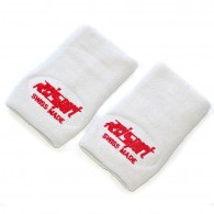 Reisport -Wristbands - Color White, Gymnastics